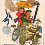 1911. Little Moritz enlève Rosalie, affiche Adrien Barrère