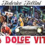 1960. La Dolce vita, réalisation de Federico Fellini, affiche de Simeoni